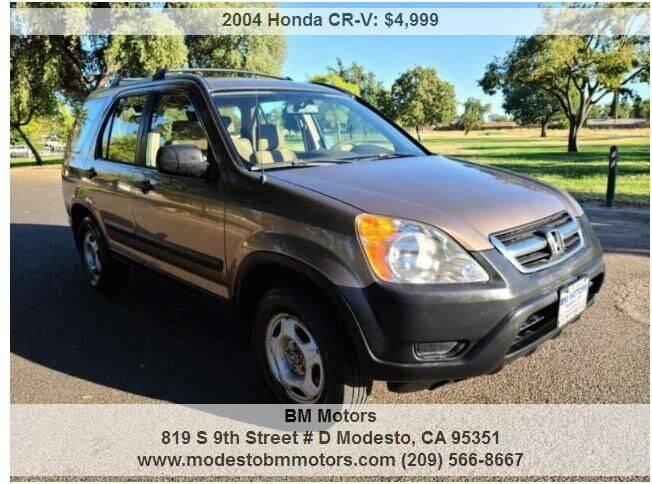 2004 Honda CR-V for sale at BM Motors in Modesto CA
