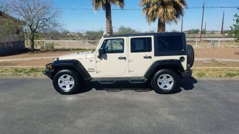 2011 Jeep Wrangler Unlimited for sale at Ryan Richardson Motor Company in Alamogordo NM