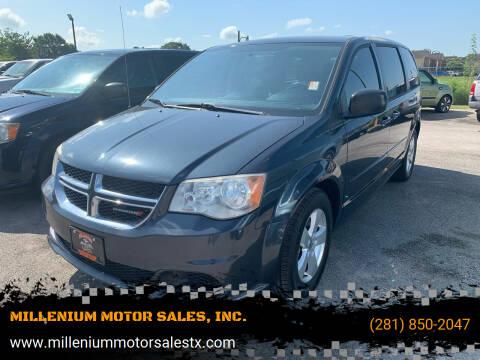 2013 Dodge Grand Caravan for sale at MILLENIUM MOTOR SALES, INC. in Rosenberg TX