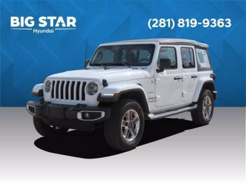 2018 Jeep Wrangler Unlimited for sale at BIG STAR HYUNDAI in Houston TX