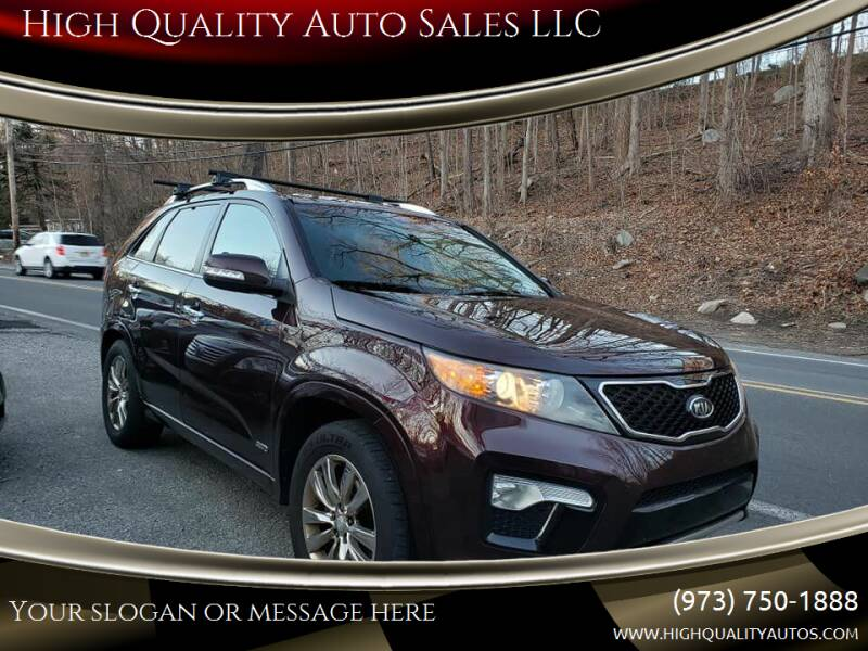 2012 Kia Sorento for sale at High Quality Auto Sales LLC in Bloomingdale NJ