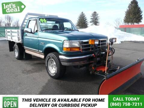 1996 Ford F-150 for sale at Shamrock Motors in East Windsor CT