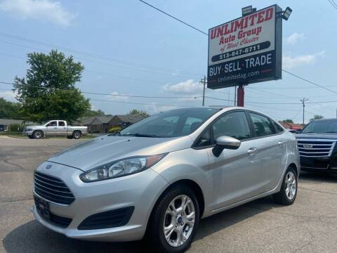 2014 Ford Fiesta for sale at Unlimited Auto Group in West Chester OH
