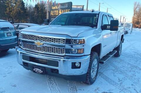 2019 Chevrolet Silverado 2500HD for sale at Affordable Auto Sales in Webster WI