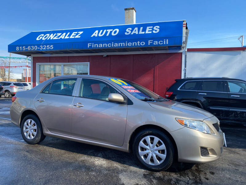 2009 Toyota Corolla for sale at Gonzalez Auto Sales in Joliet IL