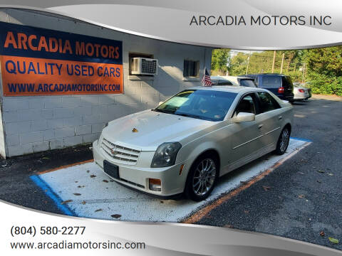 2007 Cadillac CTS for sale at ARCADIA MOTORS INC in Heathsville VA