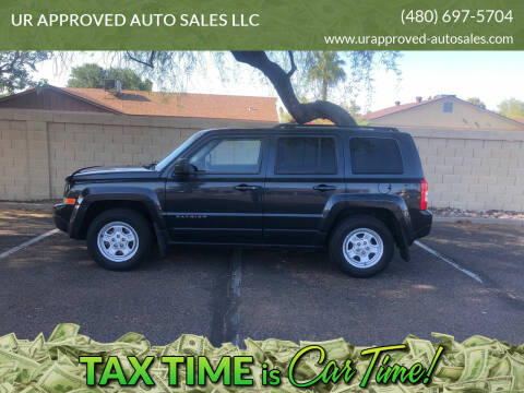 2014 Jeep Patriot for sale at UR APPROVED AUTO SALES LLC in Tempe AZ