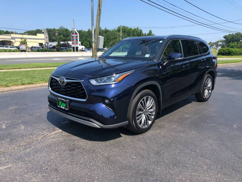 2020 Toyota Highlander for sale at iCar Auto Sales in Howell NJ