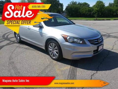 2012 Honda Accord for sale at Magana Auto Sales Inc in Aurora IL
