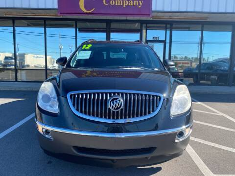 2012 Buick Enclave for sale at Greenville Motor Company in Greenville NC