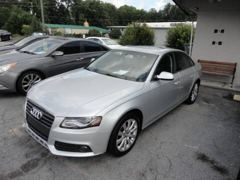 2012 Audi A4 for sale at HAPPY TRAILS AUTO SALES LLC in Taylors SC