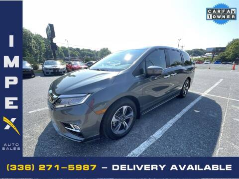2019 Honda Odyssey for sale at Impex Auto Sales in Greensboro NC