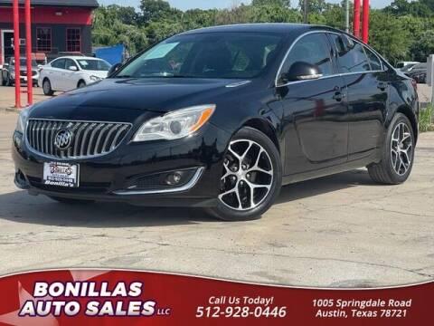 2017 Buick Regal for sale at Bonillas Auto Sales in Austin TX