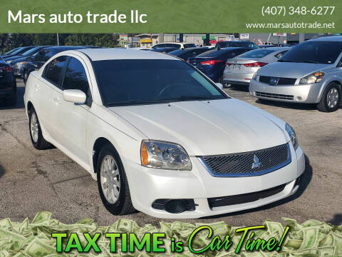 2012 Mitsubishi Galant for sale at Mars auto trade llc in Kissimmee FL