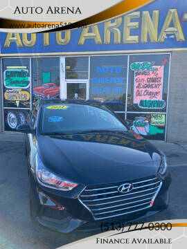 2021 Hyundai Accent for sale at Auto Arena in Fairfield OH