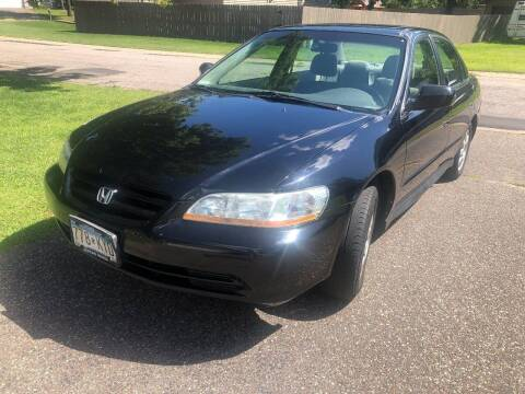 2002 Honda Accord for sale at Capital Fleet  & Remarketing  Auto Finance in Columbia Heights MN