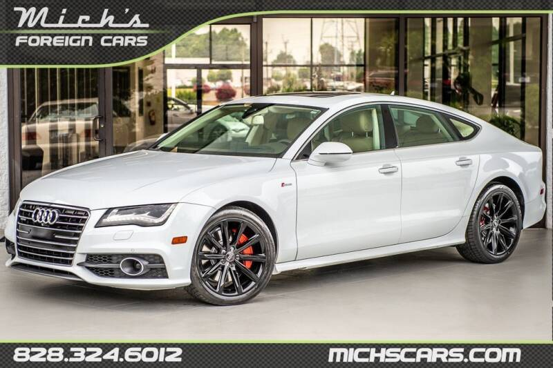 2013 Audi A7 for sale at Mich's Foreign Cars in Hickory NC