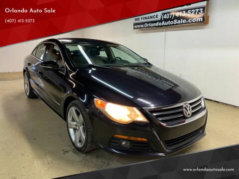 2012 Volkswagen CC for sale at Orlando Auto Sale in Orlando FL