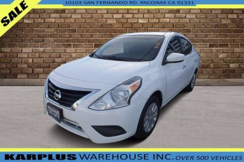 2016 Nissan Versa for sale at Karplus Warehouse in Pacoima CA