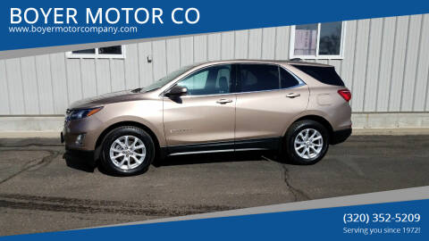 2019 Chevrolet Equinox for sale at BOYER MOTOR CO in Sauk Centre MN