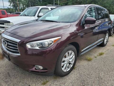 2013 Infiniti JX35 for sale at Extreme Auto Sales LLC. in Wautoma WI