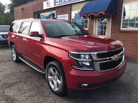 2015 Chevrolet Suburban for sale at FREEDOM AUTO LLC in Wilkesboro NC