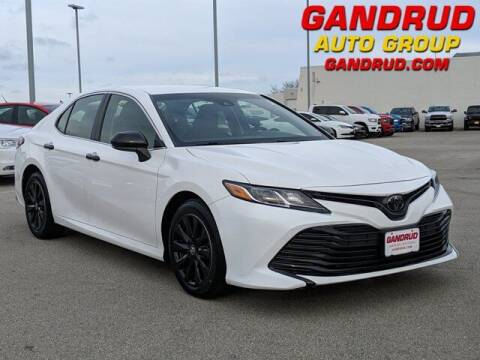 2018 Toyota Camry for sale at Gandrud Dodge in Green Bay WI