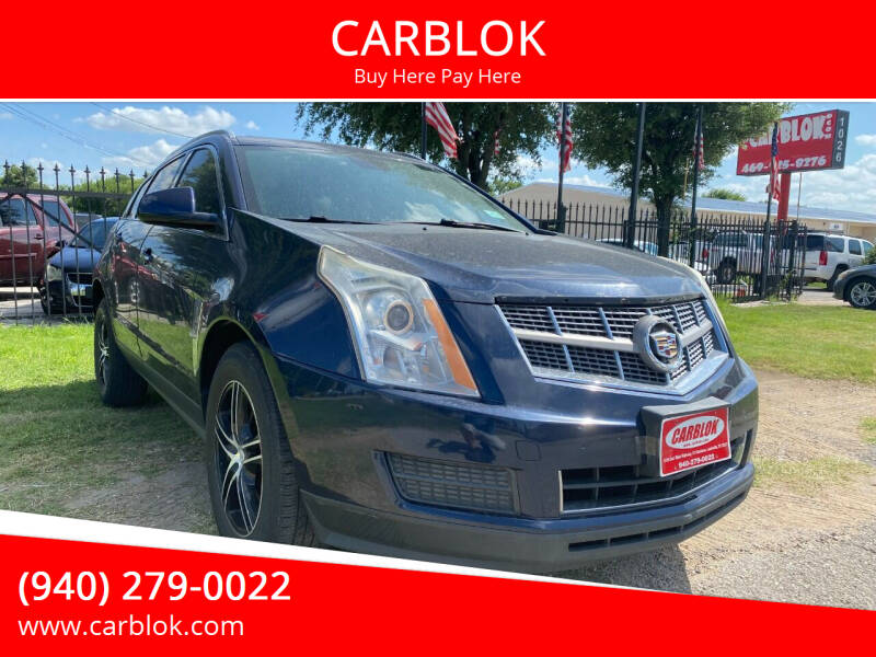 2010 Cadillac SRX for sale at CARBLOK in Lewisville TX