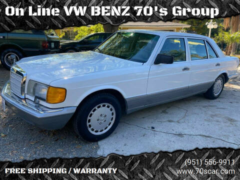 1987 Mercedes-Benz 300-Class for sale at On Line VW BENZ 70's Group in Warehouse CA
