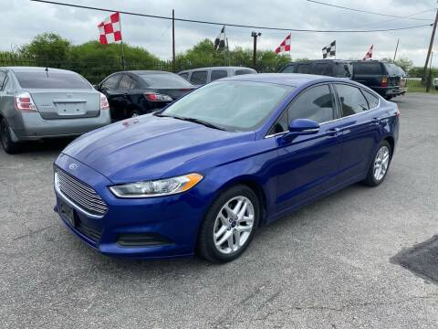 2015 Ford Fusion for sale at Silver Auto Partners in San Antonio TX