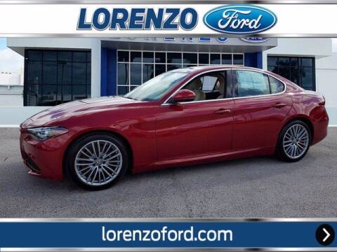 2018 Alfa Romeo Giulia for sale at Lorenzo Ford in Homestead FL