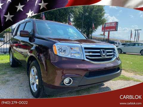 2013 Honda Pilot for sale at CARBLOK in Lewisville TX
