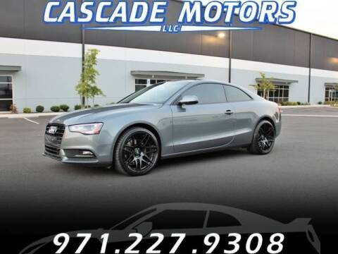 2013 Audi A5 for sale at Cascade Motors in Portland OR