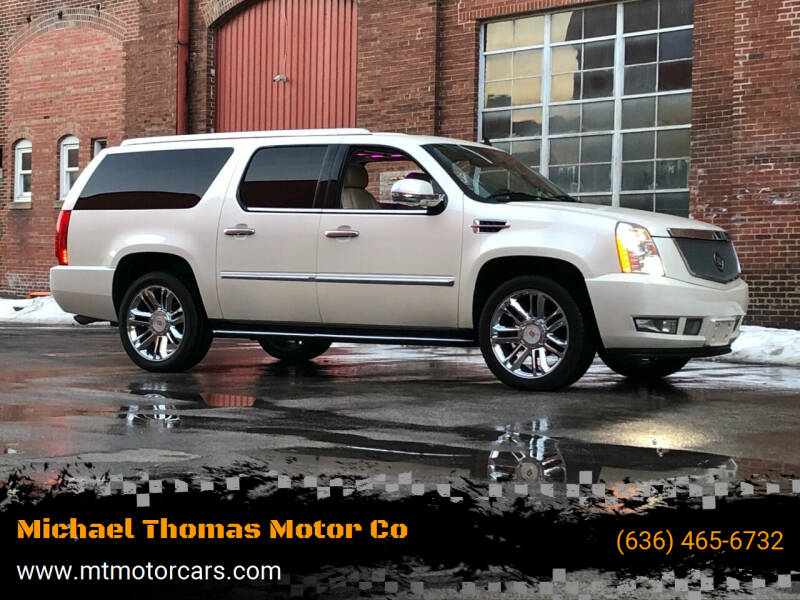 2008 Cadillac Escalade ESV for sale at Michael Thomas Motor Co in Saint Charles MO