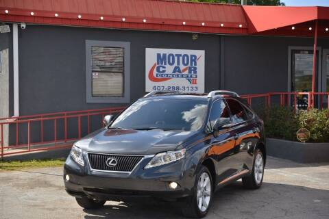 2010 Lexus RX 350 for sale at Motor Car Concepts II - Kirkman Location in Orlando FL