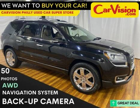 2017 GMC Acadia Limited for sale at Car Vision Mitsubishi Norristown - Car Vision Philly Used Car SuperStore in Philadelphia PA