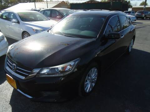 2013 Honda Accord for sale at River City Auto Sales in Cottage Hills IL