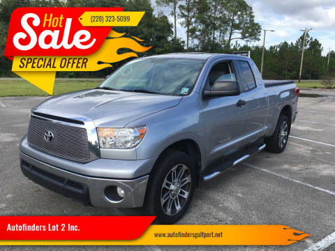 2012 Toyota Tundra for sale at Autofinders in Gulfport MS