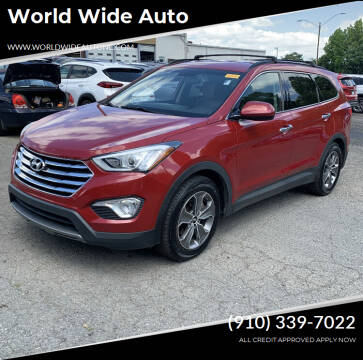 2013 Hyundai Santa Fe for sale at World Wide Auto in Fayetteville NC
