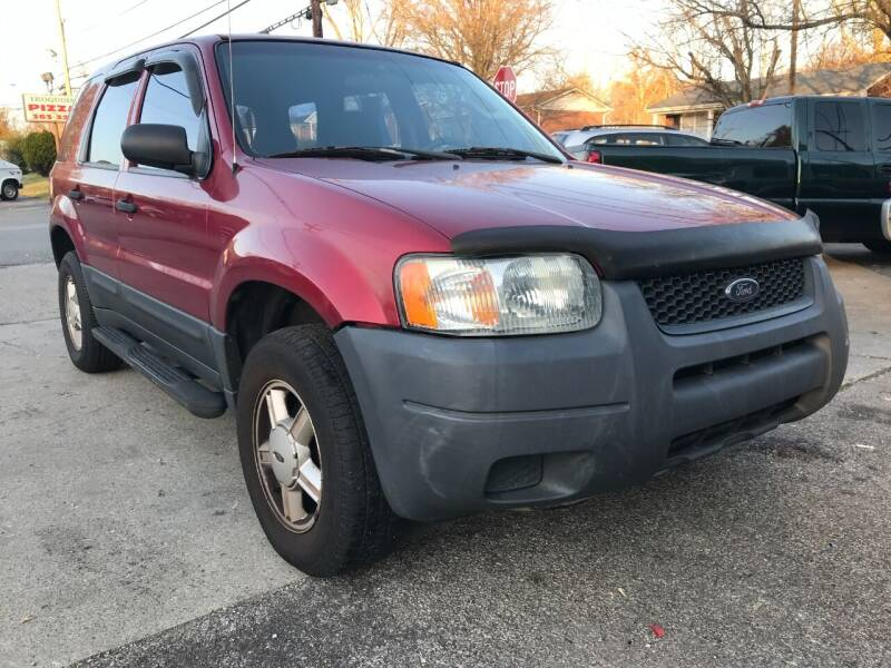 2003 Ford Escape for sale at King Louis Auto Sales in Louisville KY
