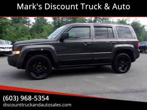 2015 Jeep Patriot for sale at Mark's Discount Truck & Auto in Londonderry NH