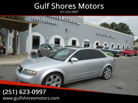 2004 Audi S4 for sale at Gulf Shores Motors in Gulf Shores AL