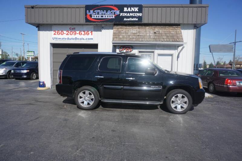 2007 GMC Yukon for sale at Ultimate Auto Deals DBA Hernandez Auto Connection in Fort Wayne IN