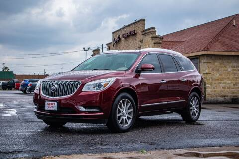 2017 Buick Enclave for sale at Jerrys Auto Sales in San Benito TX