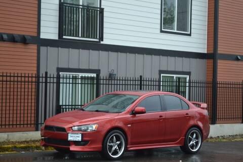 2009 Mitsubishi Lancer for sale at Skyline Motors Auto Sales in Tacoma WA