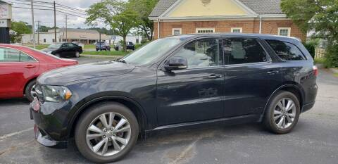 2012 Dodge Durango for sale at HL McGeorge Auto Sales Inc in Tappahannock VA