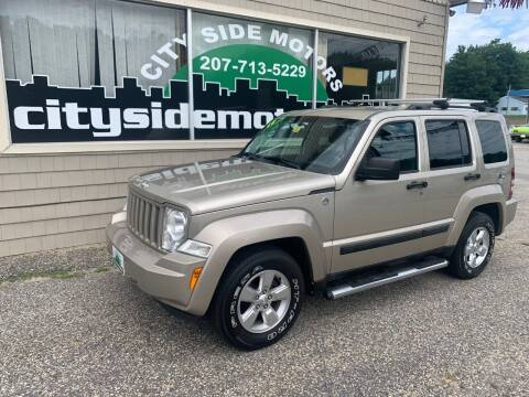 2011 Jeep Liberty for sale at CITY SIDE MOTORS in Auburn ME