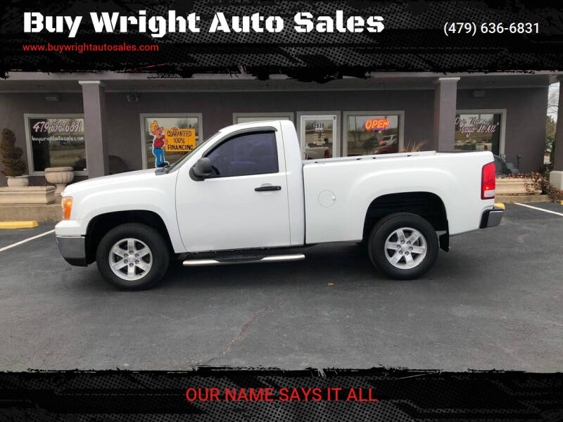 2013 GMC Sierra 1500 for sale at Buy Wright Auto Sales in Rogers AR