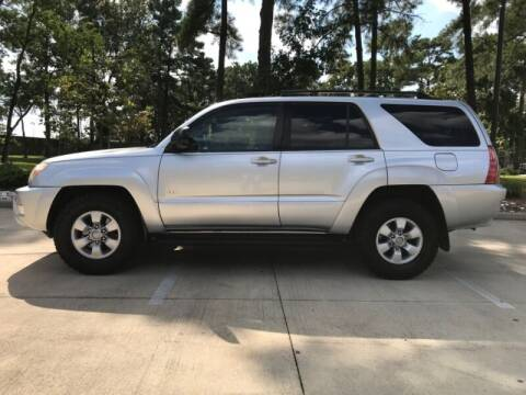 2004 Toyota 4Runner for sale at ALL AMERICAN FINANCE AND AUTO in Houston TX