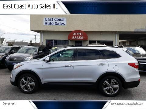 2013 Hyundai Santa Fe for sale at East Coast Auto Sales llc in Virginia Beach VA